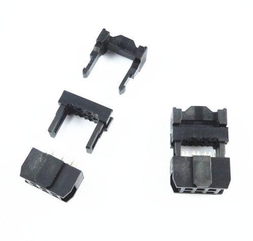 20PCS NEW 2.54mm Pitch 6Pin FC-6P IDC FC Female Header Connector 3pcs//set