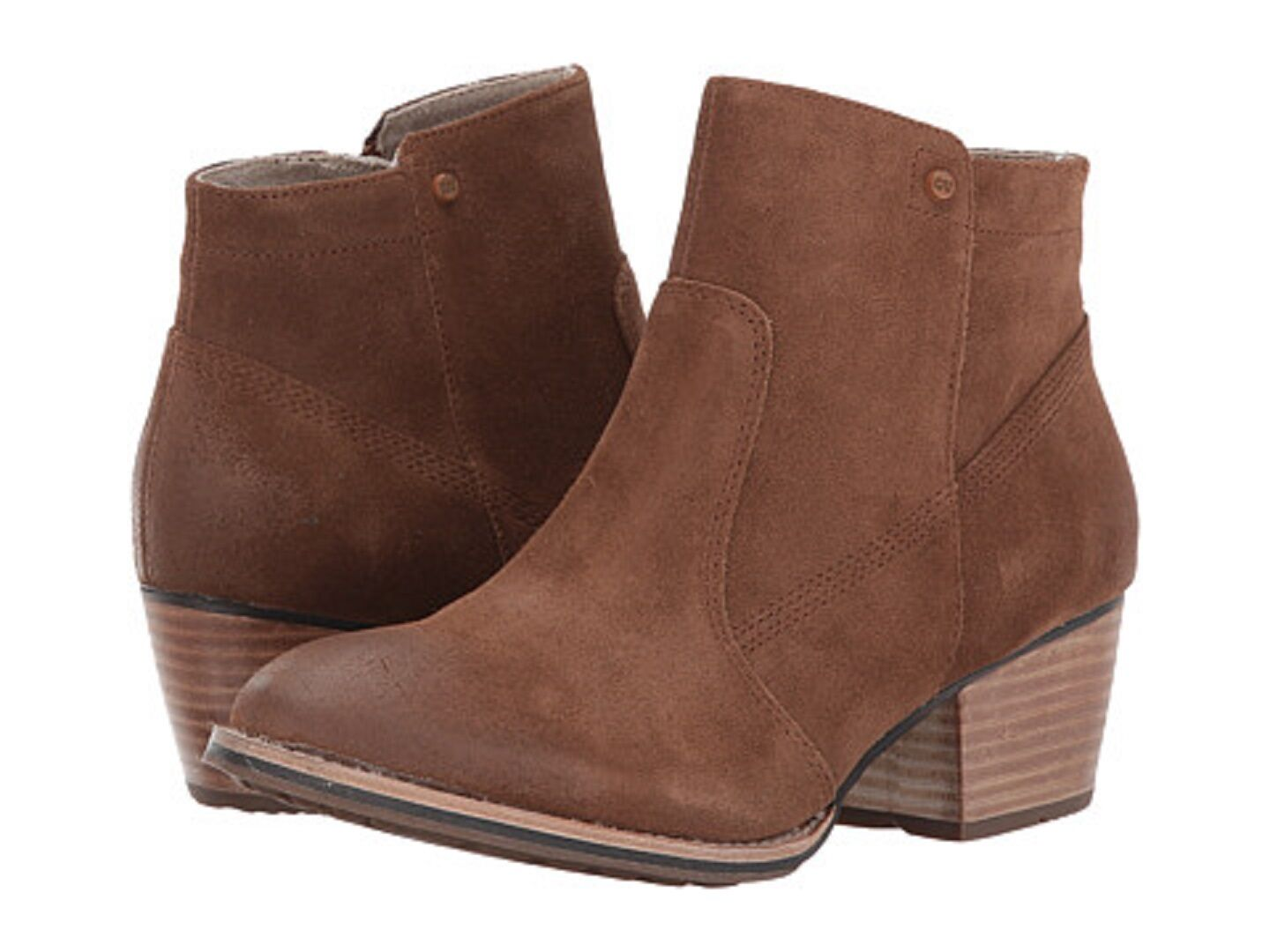 CATERPILLAR P309968 CIDER Wmn's (M) Brown Suede Ankle Bootie