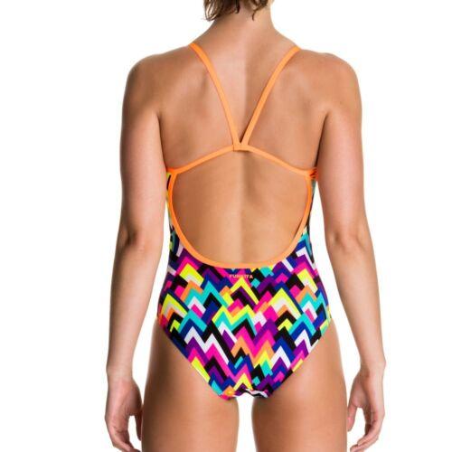 Funkita Damen Badeanzug Schwimmanzug Tip Top One Piece