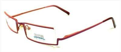 1x Brille Collection Creativ Brillengestell Mod. 697 Col 994 Rosa/orange Erfrischend Und Wohltuend FüR Die Augen