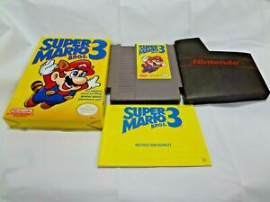 NINTENDO-NES-SUPER-MARIO-BROS-3-COMPLETE-WITH-BOX-AND-MANUAL-RARE