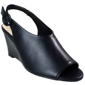 Ladies-Women-039-s-Wedge-Pumps-Ankle-Strap-High-Heels-Platform-Party-Shoes-Sz-UK-4