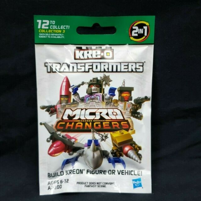 KRE-O Transformers Micro Changers (Collection 3) - BRAND NEW & SEALED