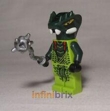Lego Lizaru from set 9557 Ninjago Snake/Reptile Minifigure BRAND NEW njo068