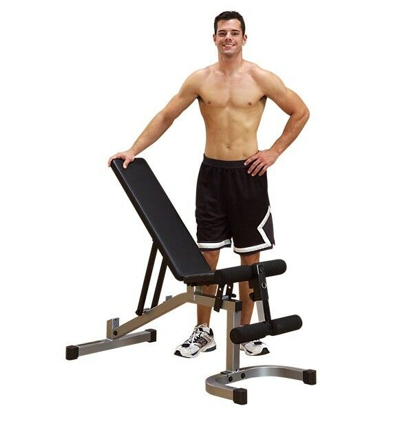 Powerline PFID130X Flat   Incline   Decline  Bench with T-Bar Hold Down NEW  after-sale protection