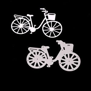Stanzschablone-Fahrrad-Sport-Weihnachts-Hochzeit-Oster-Geburstag-Karte-Album-DIY