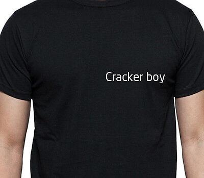 CRACKER BOY T SHIRT PERSONALISED TEE JOB WORK SHIRT CUSTOM