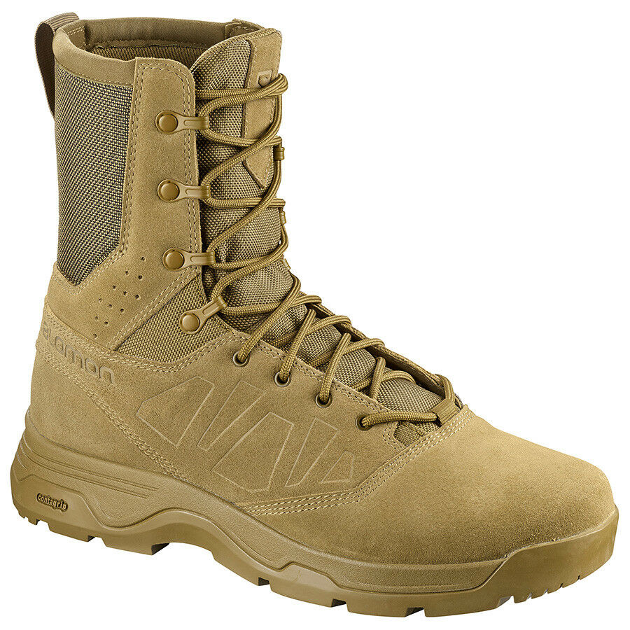 Salomon Guardian Stiefel Coyote Brun