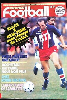 France Football 6/03/1979; Delachet/ Rocheteau/ Nottingham Forest/ Paris