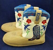 Montana Silversmiths Cowboy Kickers Embroidered Bluebird and Flower Slipper Boot