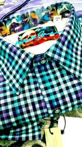 NWT Robert Graham men/'s M,L,XL,/&2XL long sleeve button down shirt,7tone classicf