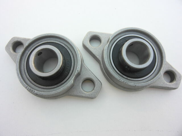 2pc 25mm KFL005  Pillow Block Bearing Flange Block Bearing