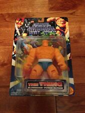 Marvel Universe The Thing Clobbering Punch Action Figure 1996 Toy Biz