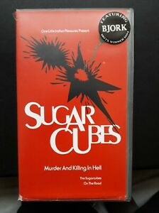 Sugarcubes MURDER AND KILLING IN HELL the sugar cubes on the road VHS VIDEOTAPE