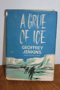 A-Grue-Of-Ice-Geoffrey-Jenkins-Collins-Hardback-196s-first-edition-2nd-impress