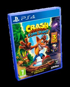 Crash Bandicoot N-Sane Trilogy PS4 Pal España Nuevo Precintado castellano