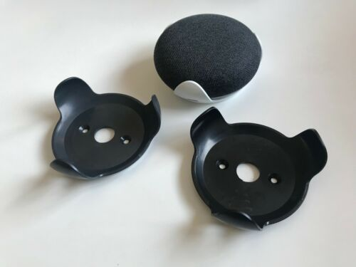 Google Home Mini Wall mount Bracket, High quality tough ABS moulded part. Black