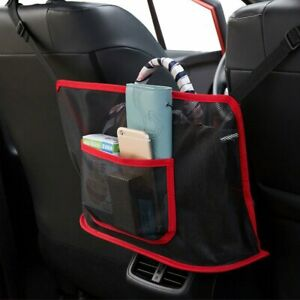 Car Seat Storage Bag Net Pocket Handbag Holder Organizer Convenient Mesh USA