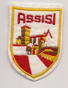 Assisi-Italy-Souvenir-Patch