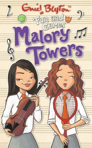 Fun and Games at Malory Towers By Pamela Cox, Enid Blyton