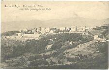 ROCCA DI PAPA - PANORAMA DEI VILLINI VISTI DALLA PASSEGGIATA TUFO (ROMA) 1917