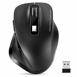 TedGem-Maus-Kabellos-Funkmaus-2-4G-Kabellose-Maus-Tragbar-Wireless-Maus-Lapto