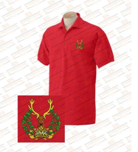 Highlanders Highlanders bestickte Gordon Die Poloshirts Poloshirts Die bestickte Gordon FqttYR