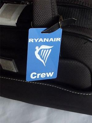 Luggage Tags- Ryanair Crew   (Personalized  Gift)