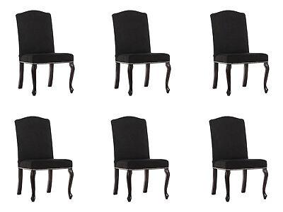 6x Chesterfield Design Imbottitura Sedia Set Sedie Sedile Tessile Set Completo-mostra Il Titolo Originale