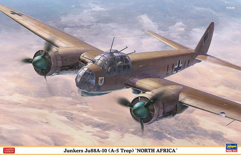 1  48 HASEGAWA JUNKERS JU88A -10 (A -5 TROP) NORDAFRIKA