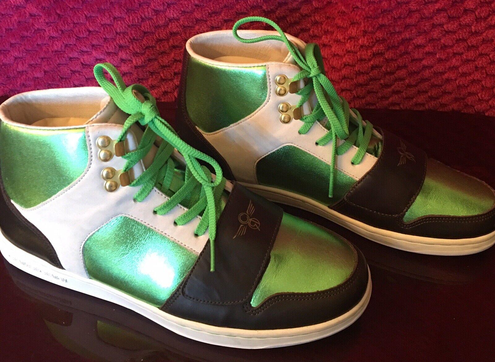 Creative Recreation Chaussures Hommes Cesario paniers montantes Taille 9 vert noir