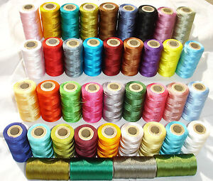 25-Embroidery-Machine-Thread-for-Brother-Janome-25-different-Colors-Great-Item