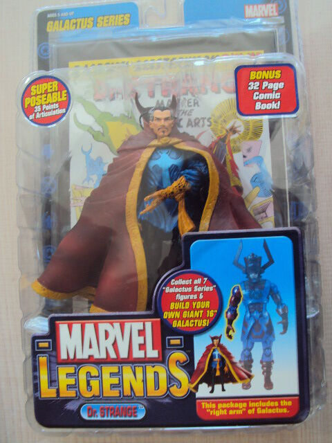 Marvel legends series 9 galactus  dr. seltsam 2005 spielzeug - biz - neuf