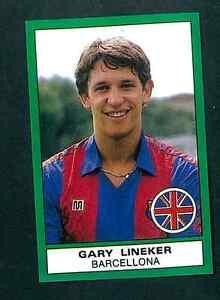 GARY-LINEKER-BARCELLONA-CALCIATORI-1987-88-CALCIO-ED-PANINI-Nuovo-di-zecca