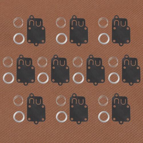 10 For Briggs /& Stratton 5021 A B C D H K 270026 395021 Carburetor diaphragm Kit