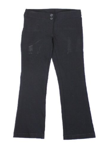 Girls Black School Trousers Brand New Ex Chain Store Size Age 8-16