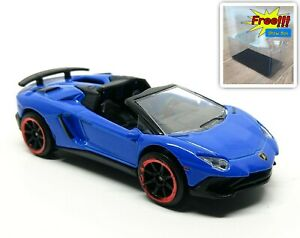Majorette-Lamborghini-Aventador-SV-Roadster-Blue-1-64-219G-New-no-Package