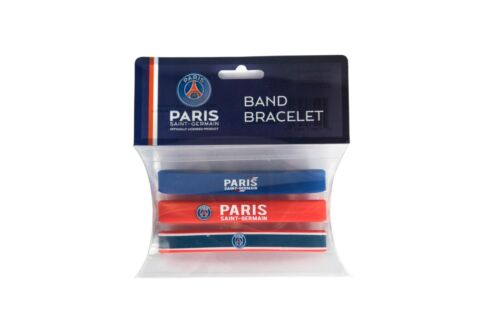 PARIS SAINT GERMAIN BRACELET BANDS 3 ASSORTED ONE SIZE FIT ALL FREE SHIPPING USA