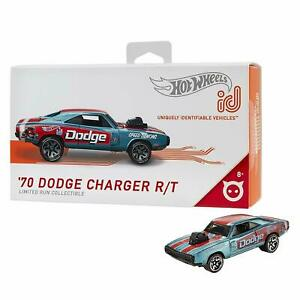 2019-Hot-Wheels-id-039-70-DODGE-CHARGER-R-T-Blue-Uniquely-Identifiable-Series-1