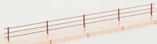 Weinert 3215 Zaun aus Blechprofilen  H0 1:87 Bausatz Länge ca 70 cm 20 Pfähle