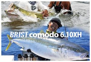 Fishman BRIST comodo 6.10XH Versatile 3pcs Baitcasting Rod