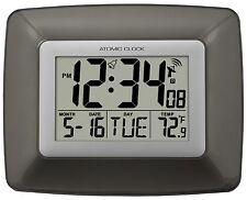 WS-8008U La Crosse Technology Atomic Digital Wall Clock with IN Temperature NIB