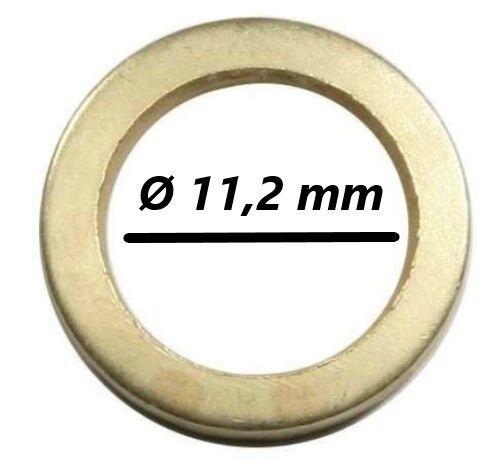 60 Fitschenringe Mix Ø 9,2-13,2 mm Unterlegscheibe Türen Scheibe Zimmertüren