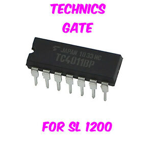 New Technics IC NAND Gate SL 1200 1210 MK2 MK5 M5G Free tracking ship