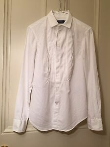 Women's Ralph Size Uk4 White Cotton Polo Lauren Authentic Blouse Smart 4U5qtx5w