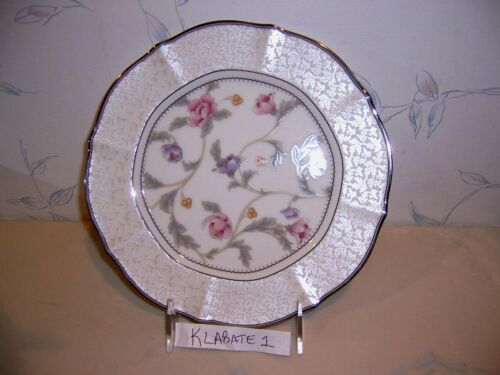 NEW Salad NEW Noritake AVERY PLATINUM Accent Plate s Roses Multiple Avail