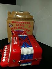 Woodstock Kid's Accordion Music to Go with box, music/songsheet