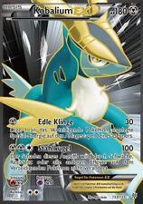 Pokemon Karte, Kobalium EX, Full Art, Plasma Sturm, 133/135