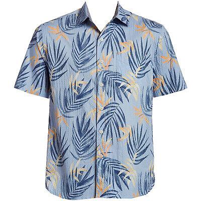 Tommy Bahama Mens Hawaiian Shirt Terra Fronds $135 Retail NWT Free Shipping