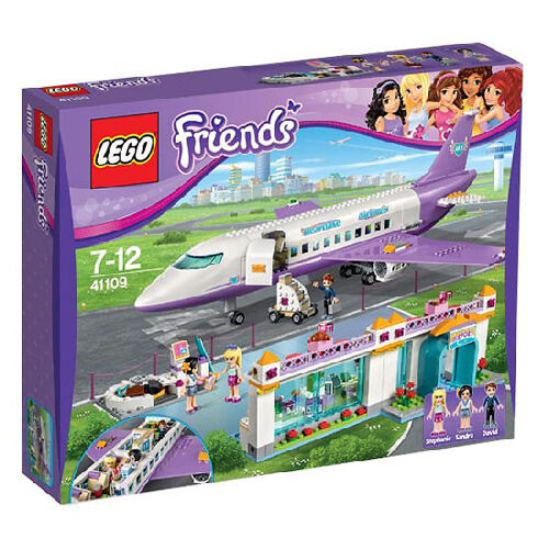 LEGO Friends 41109 Heartlake City Airport Set New In Box Sealed  41109